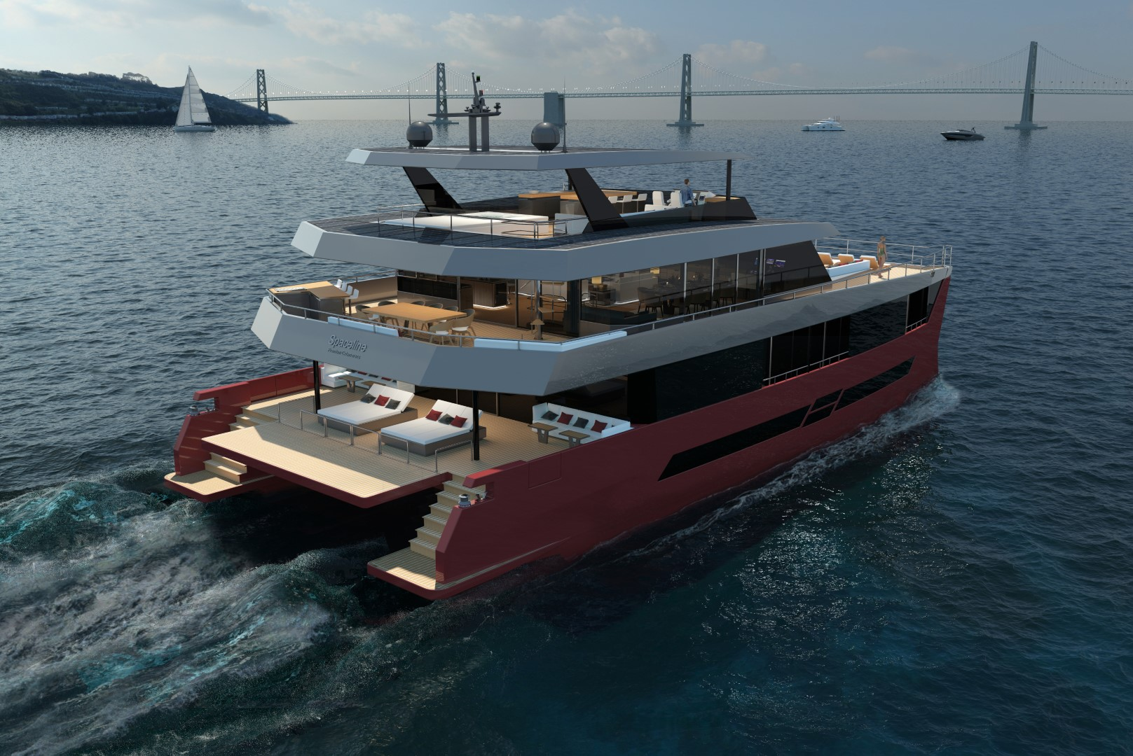 The eco-friendly NexGen Spaceline 100 Hybrid comes to change the cruising experience