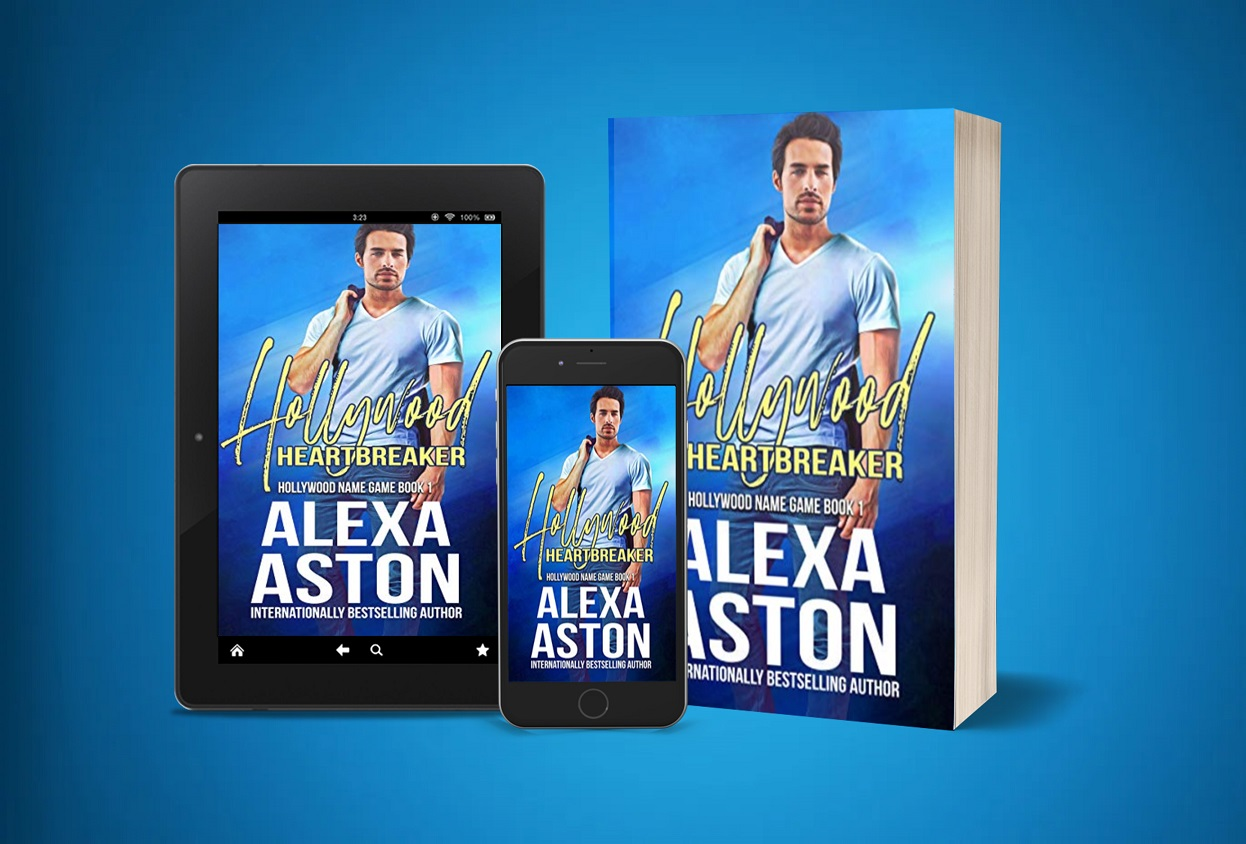 Romance Author Alexa Aston Releases New Book - Hollywood Heartbreaker