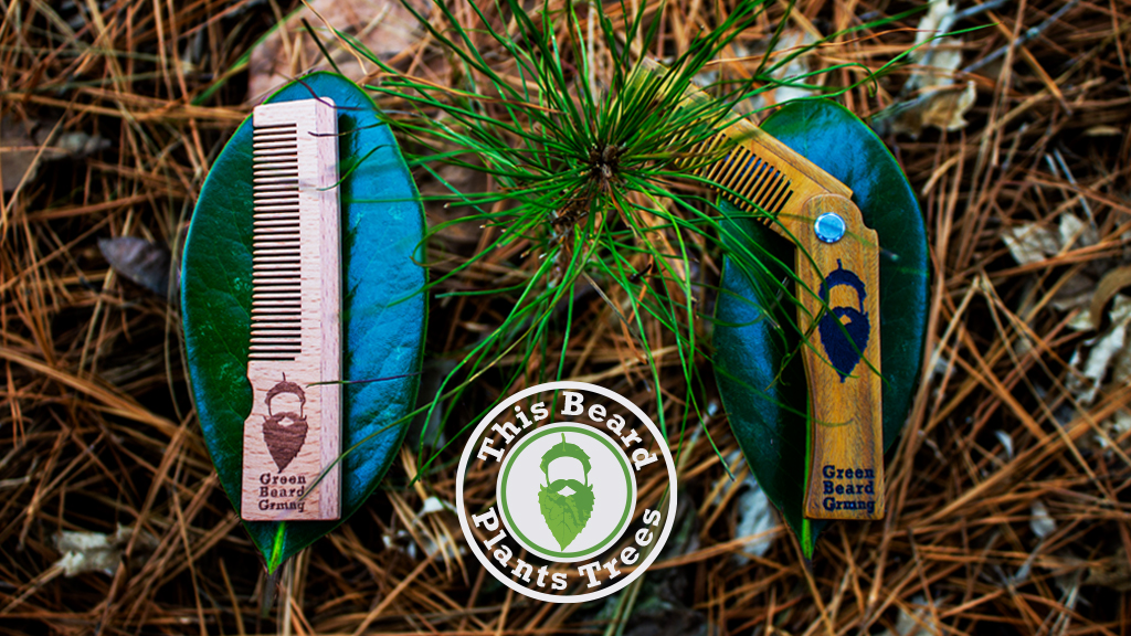 Turning Beards into Forests on Kickstarter this Arbor Day