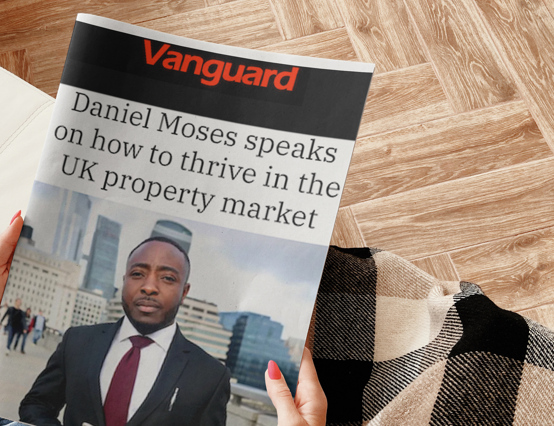 Daniel Moses speaks on how to thrive in the UK property market