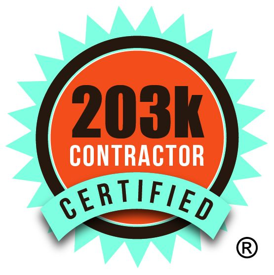 Local contractor, Darren Phillip with Don't Fah-Get Home Improvements has Earned The Remodeling Industry's Certified 203k Contractor® Designation