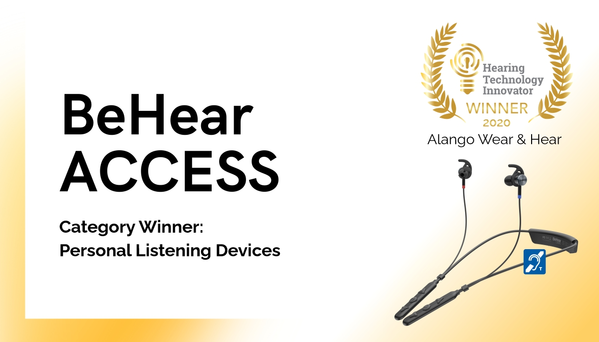 Israeli Tech Start-up Takes Home Two Gold Awards for Assistive Hearing Products