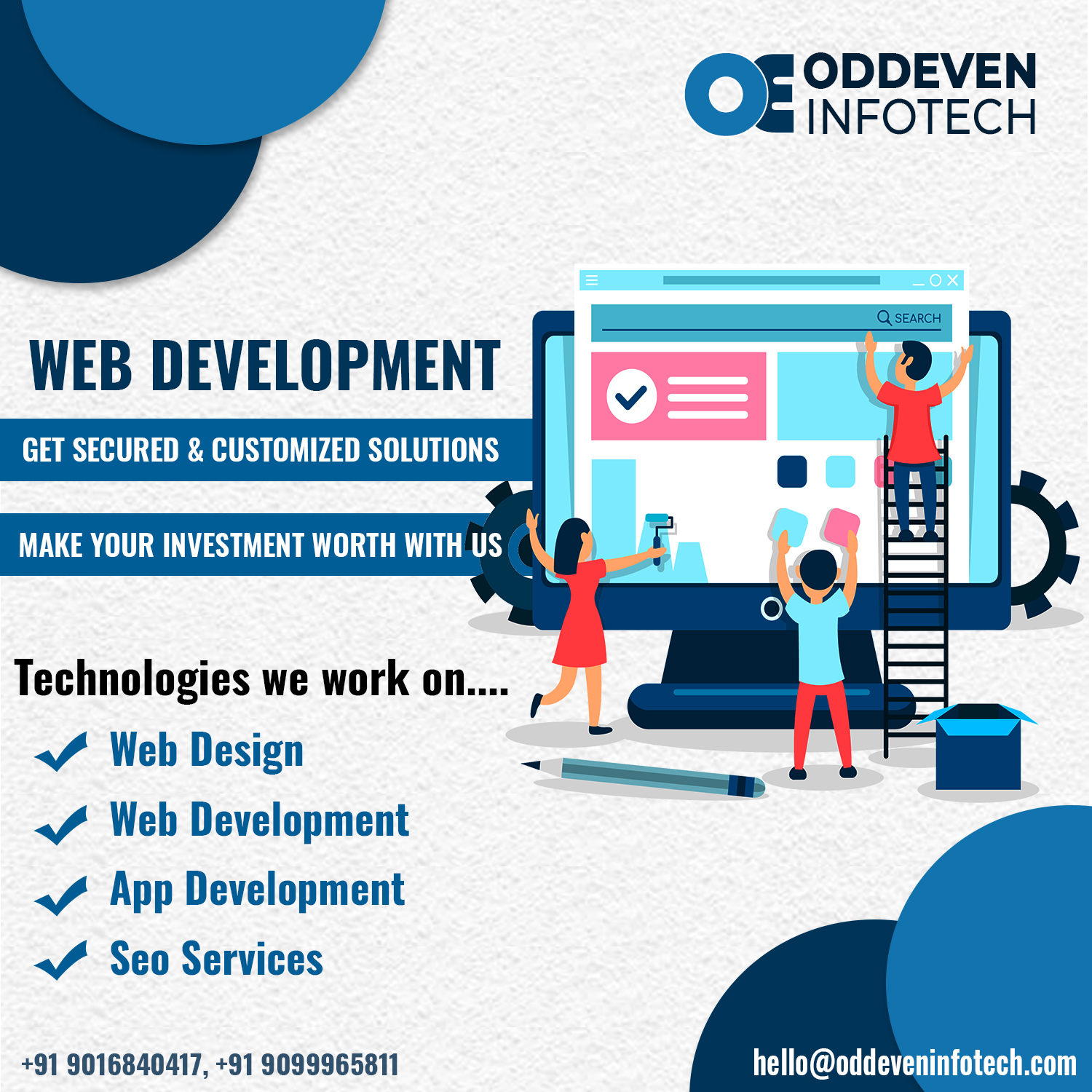 Website development company | PHP development services