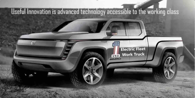 Lordstown Motors Receives Letter of Intent from E Squared Energy for 14,000 Lordstown Endurance Electric Pickup Trucks