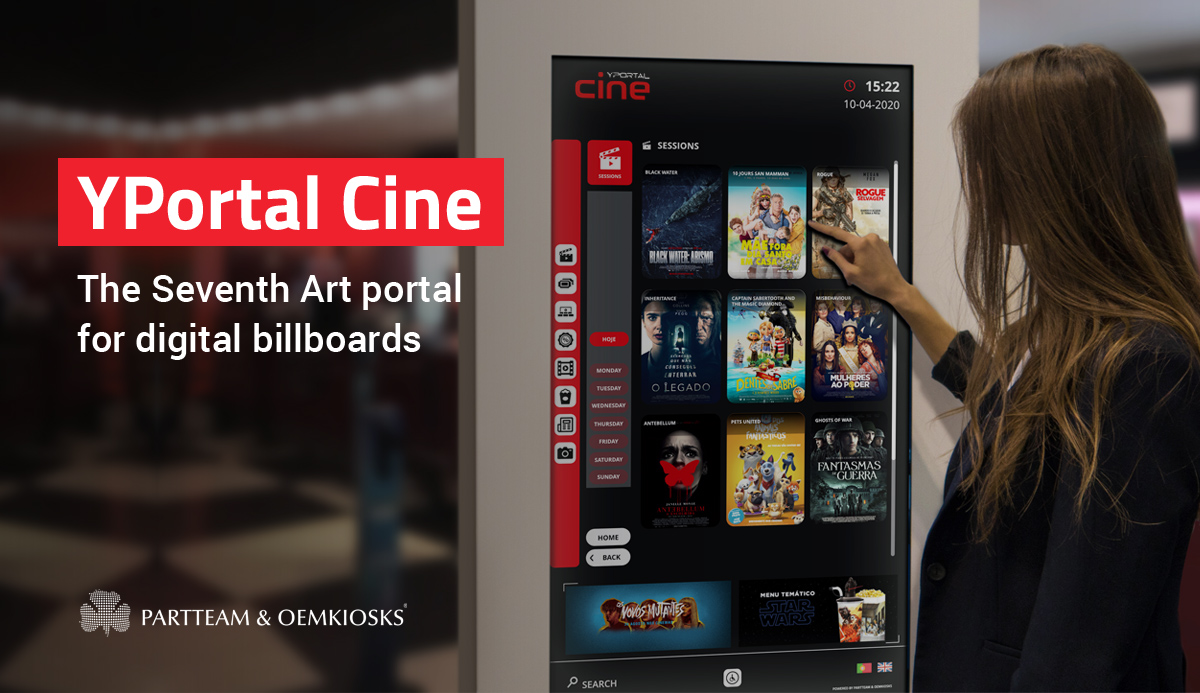 YPortal Cine: The Seventh Art Portal for Digital Billboards