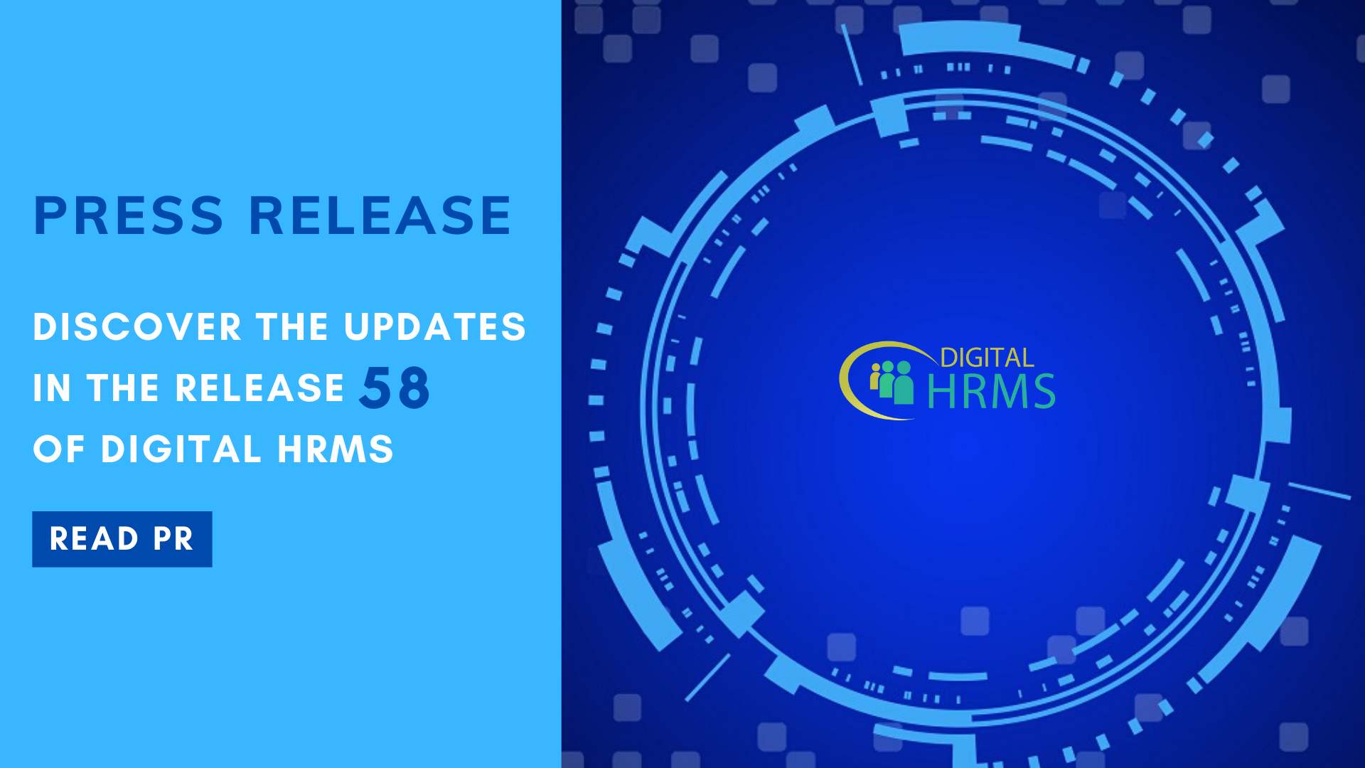 The Digital Group announces Release 58 of Digital HRMS