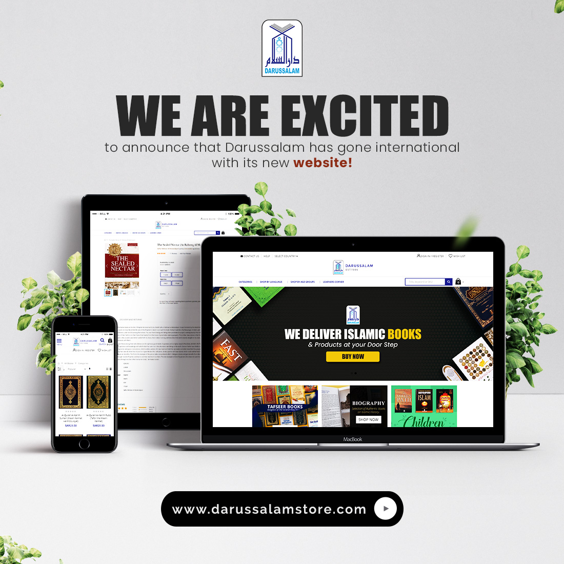 Darussalam Launches New Website to Increase Market Reach