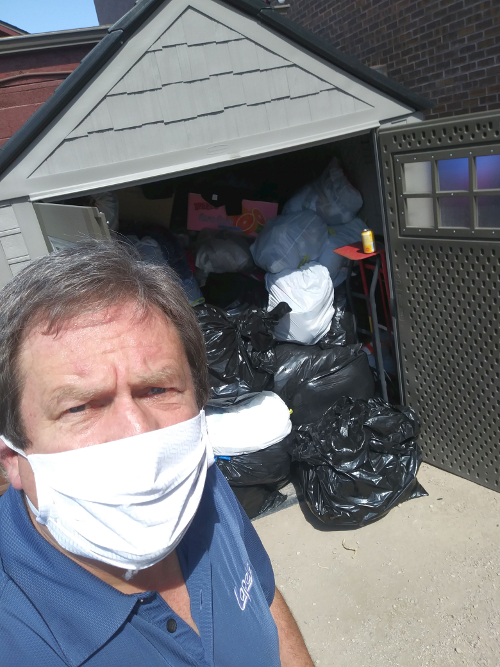 Lapels Dry Cleaning of Littleton Makes an Impact with Clothing and Mask Donation