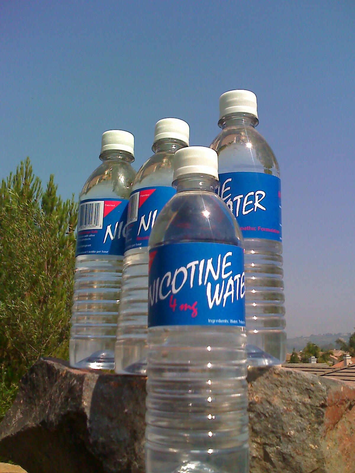 """Nautilus Launches """"Nicotine Water"""" - A New Smoking Cessation H2O"""