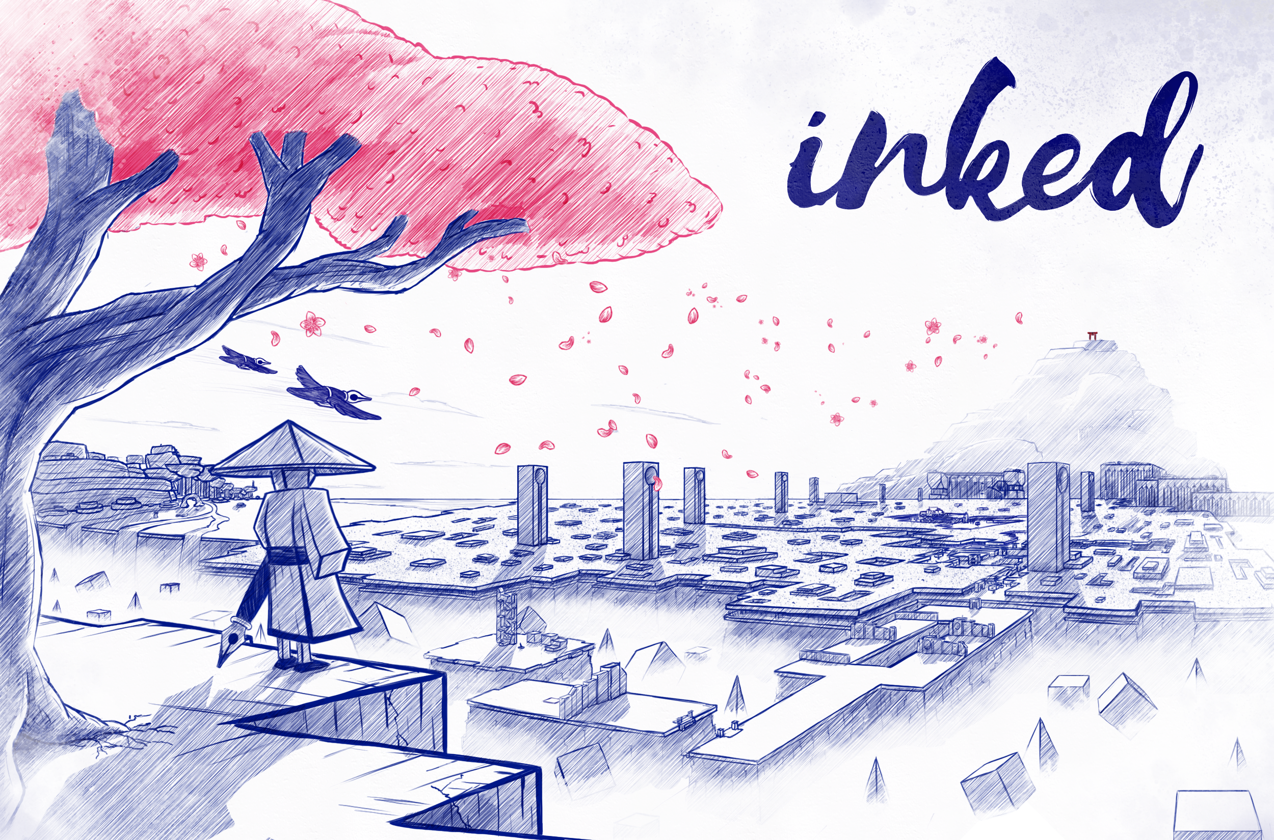 Hand-Drawn Puzzler Inked Sets Its Launch Date to Feb 24 2021