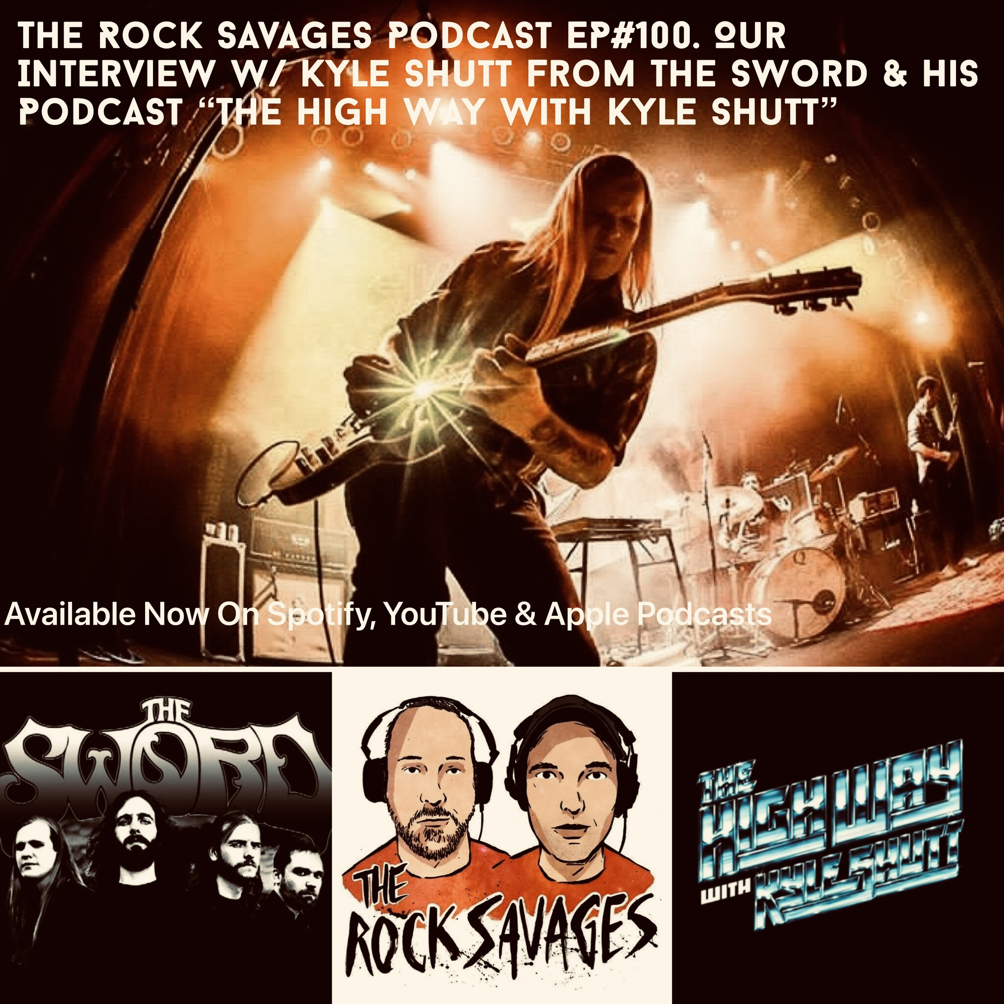 The Rock Savages Talk With Guitarist Kyle Shutt Of The Sword