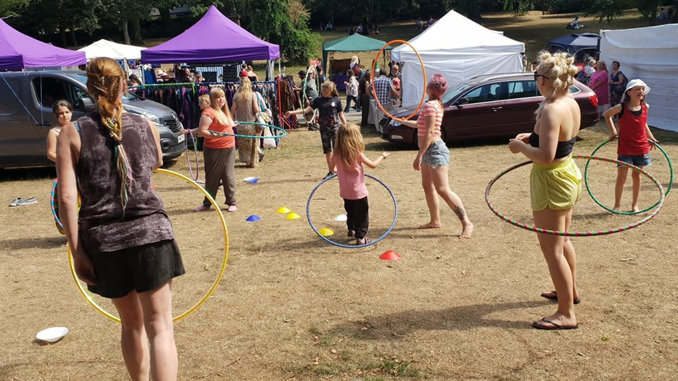 Circus Skills Workshops for Nottingham and the Midlands