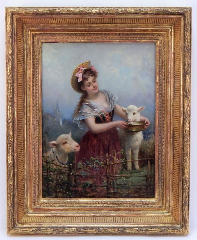 Bruneau  Co.'s October 31st Fall Fine Art  Antiques Auction has Fine Art, Asian Arts, Furniture