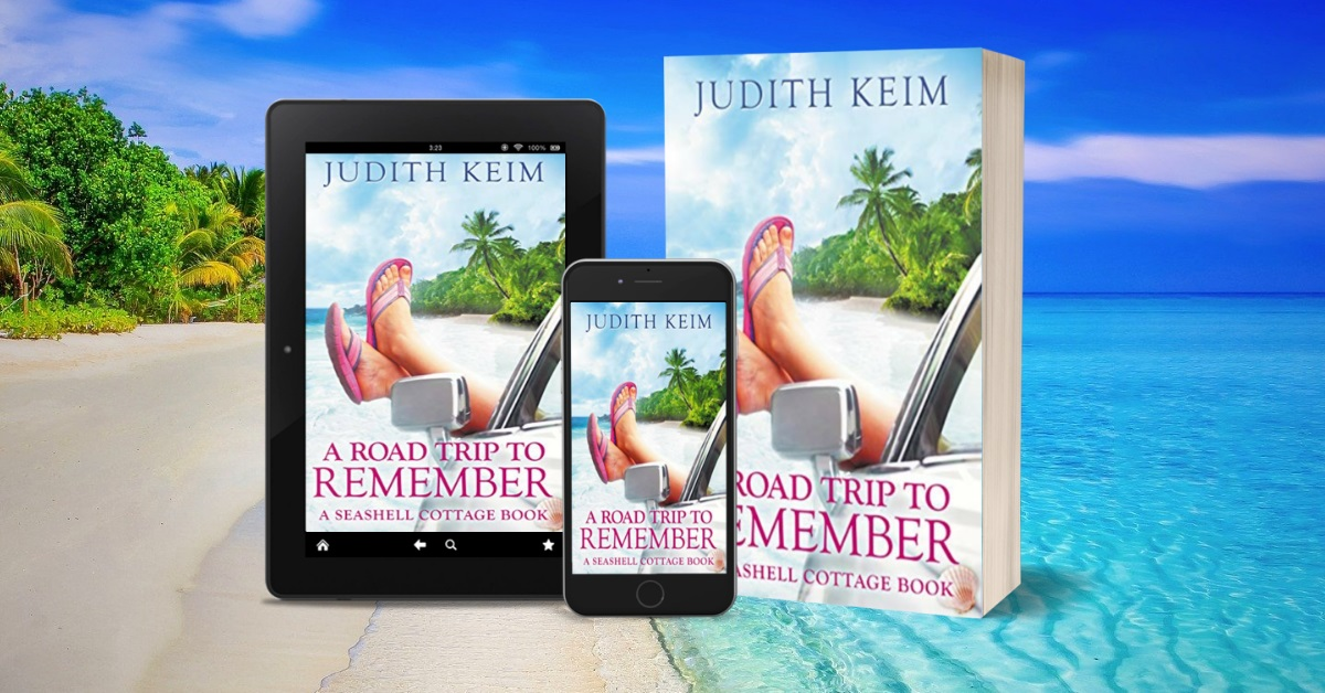 Judith Keim Releases New Romantic Women's Novel - A Road Trip to Remember