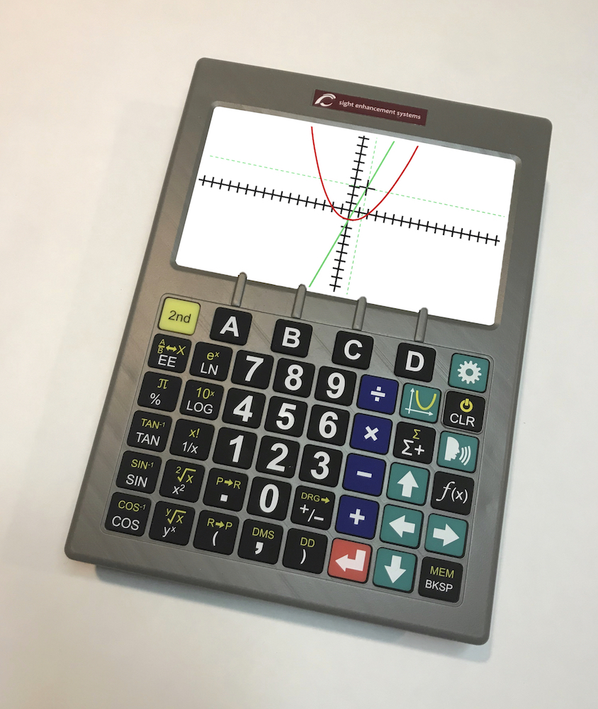 Sight Enhancement Systems Launches SciPlus-3000: Third Generation Scientific Calculators for the Visually Impaired