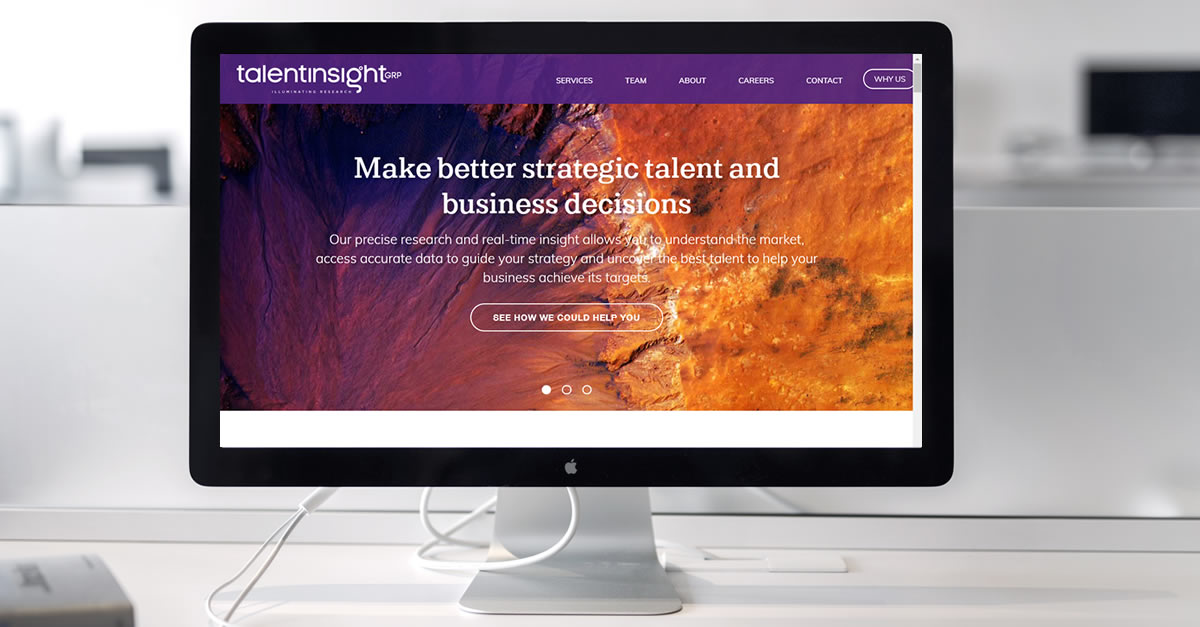 Talent Insight Group launches a new website to celebrate its third birthday
