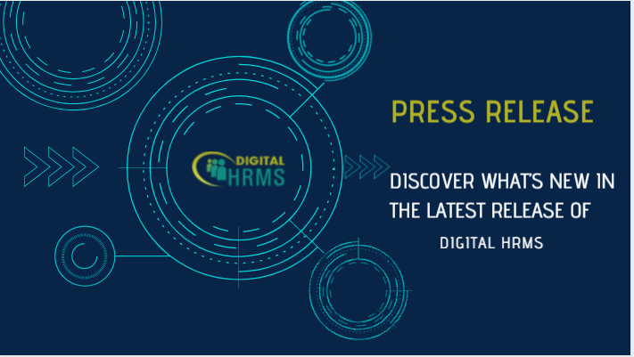 Press Release: Digital Group Announces New Features for Digital HRMS