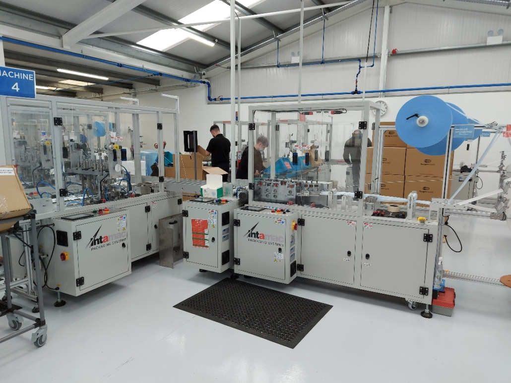 Intamac Packaging Systems to sell stock of ex demonstration machines ready for immediate despatch
