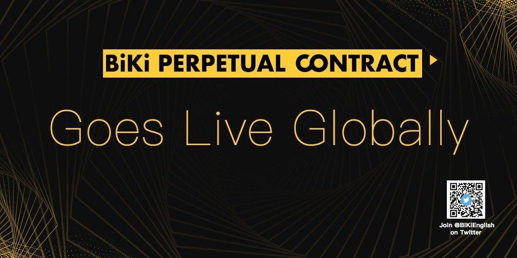 BiKi.com Launches BiKi Perpetual Contract, Enters Market as Strong Contender