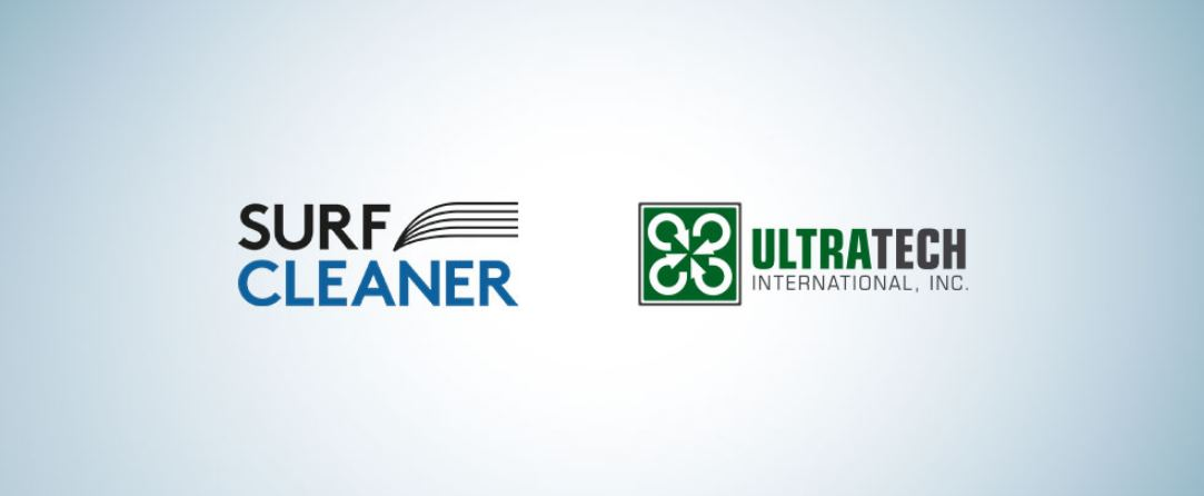 SurfCleaner announces distribution partnership with UltraTech International Inc., a leader in the environmental compliance industry.