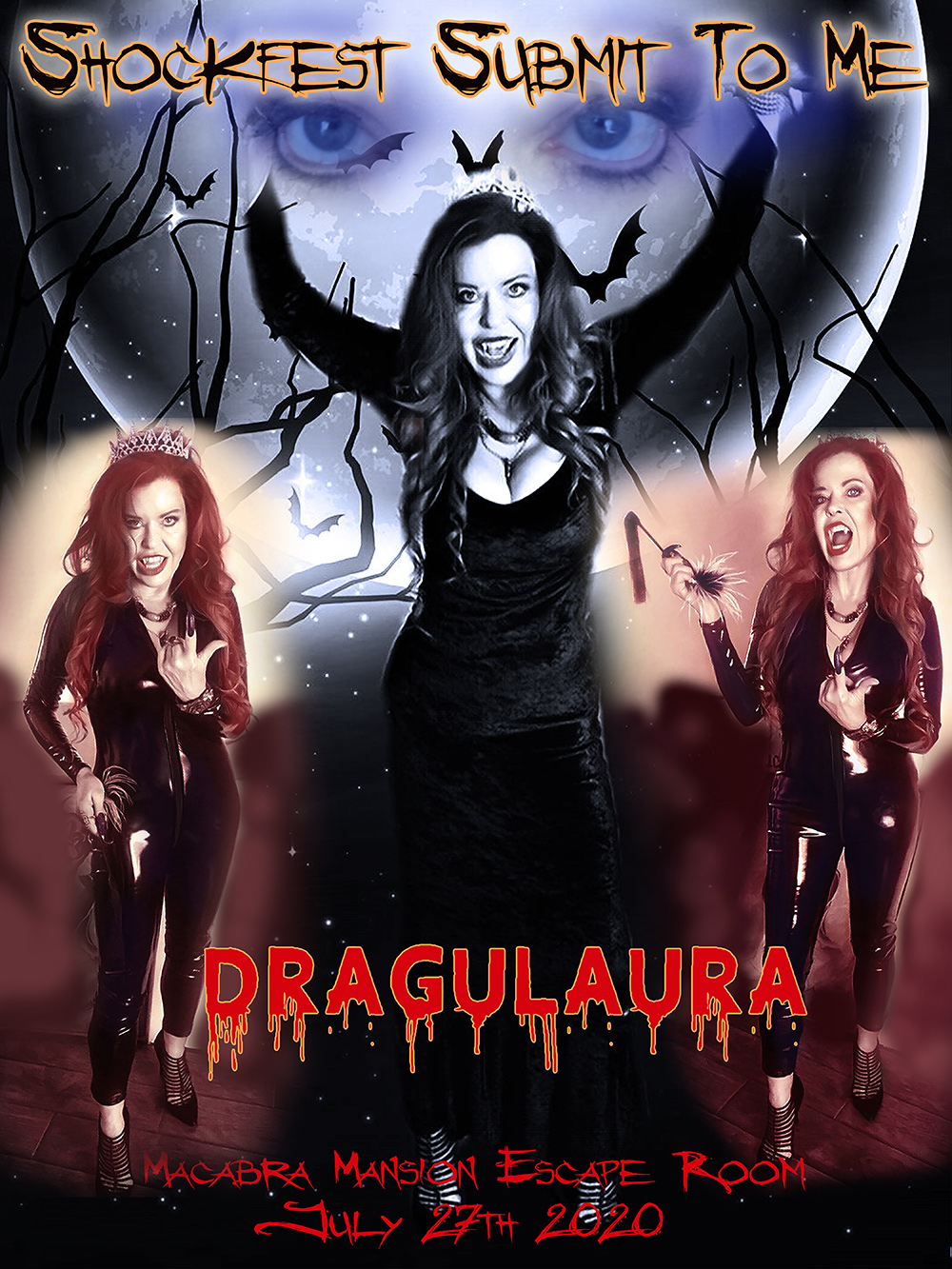 Shockfest Submit to Me with Dragulaura Queen of the Vampires