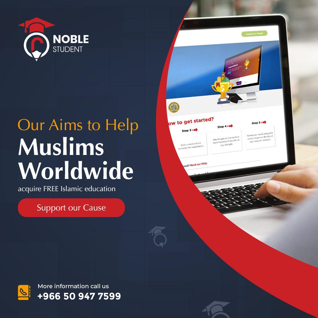 Darussalam Partners with Noble Student to Launch a Free Online Islamic Educational Platform