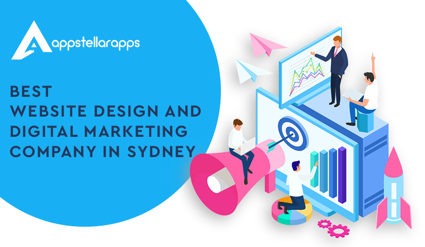 Best Website Design & Digital Marketing Company in Sydney | Appstellar Apps