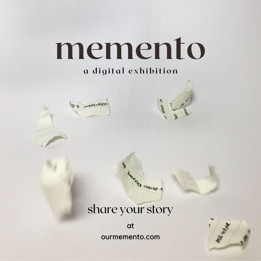 Memento - Digital Art Exhibition With Over 50 Anonymous Contributors