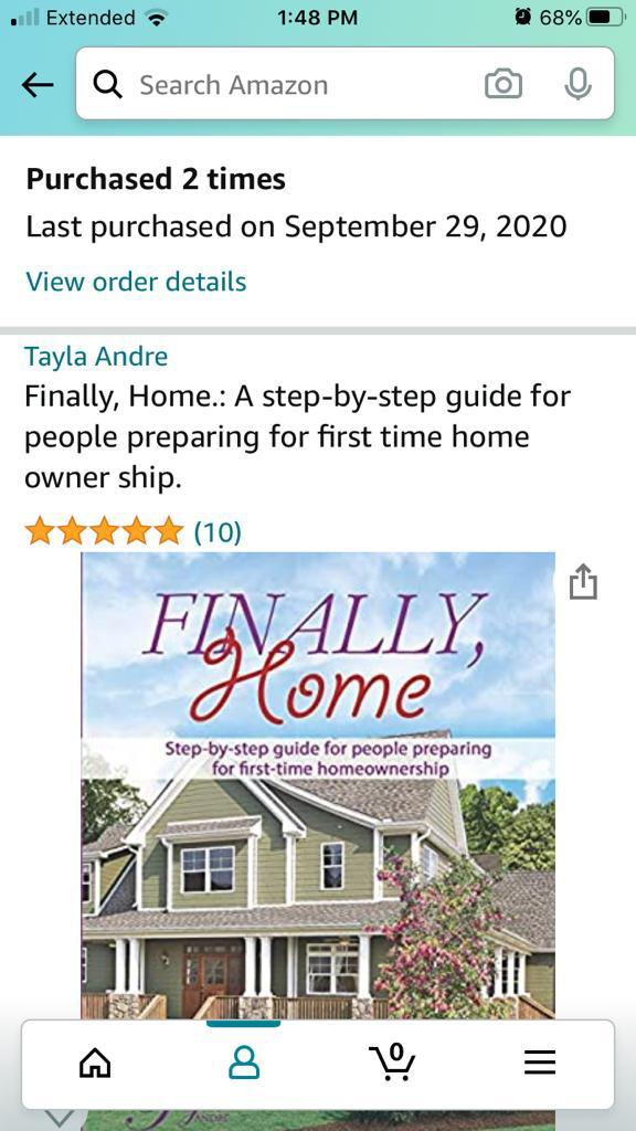 """Tayla Andre releases a new book """"Finally, Home"""" for black first-time homebuyers"""
