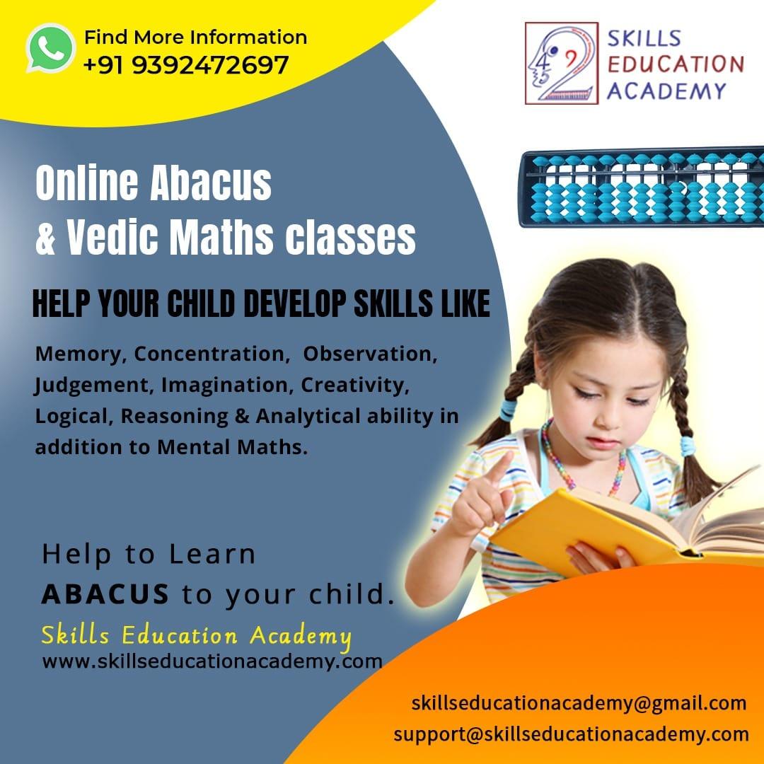 Skill Development Program in India l Abacus, Vedic Math & IAA