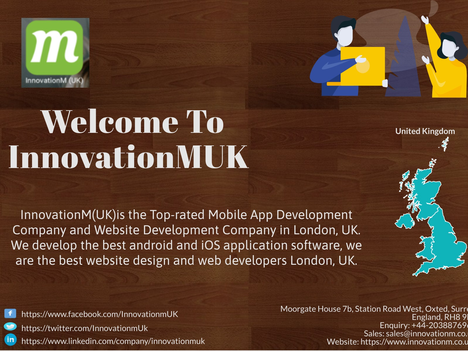 InnovationMUK is the best app design company in london and app development oxford, UK.
