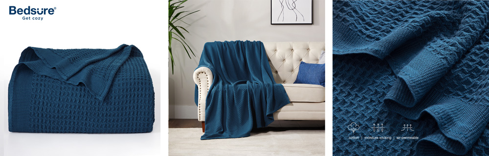 These are the best Bedsure blankets for work