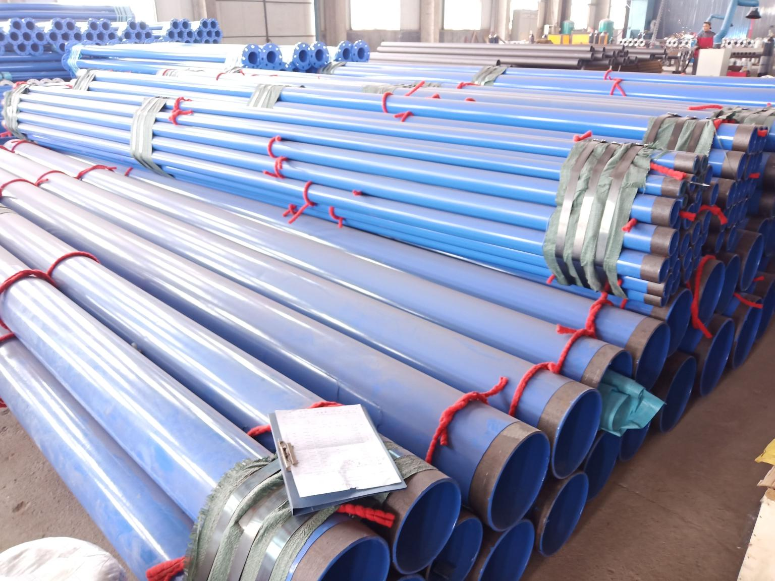 Urban Gas Pipeline Network Using ERW Steel Pipe and its Anti-corrosion Problems