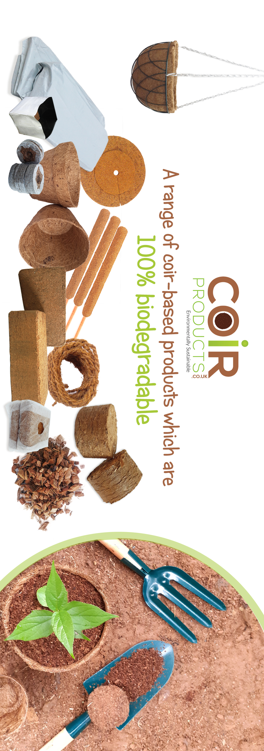 An innovative range of coir-based products under one platform