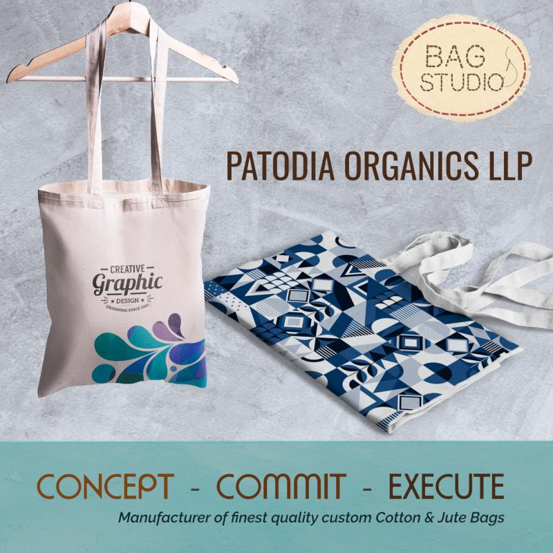 Ethical manufacturer of custom cotton bags – from sketch to finished product