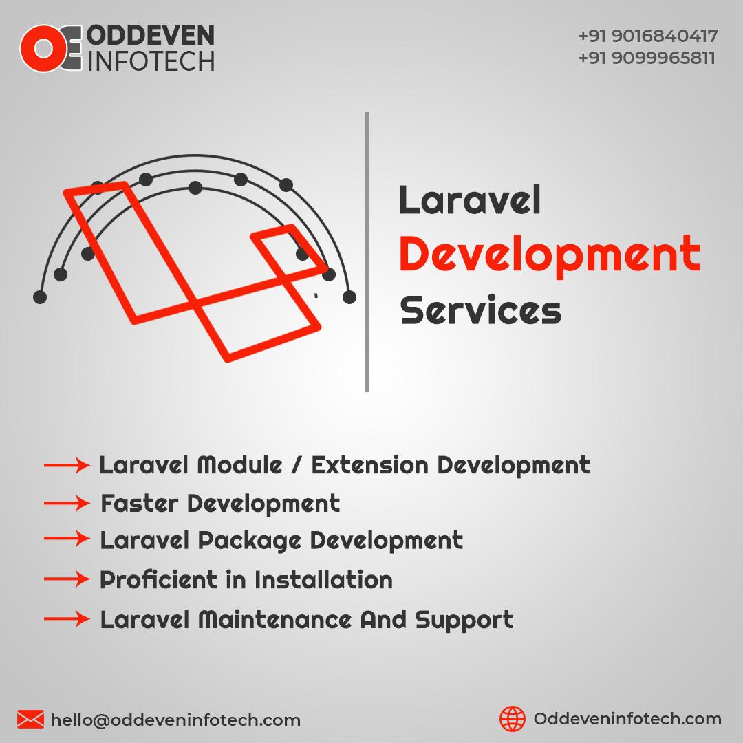Laravel Web Application Development Services   OddevenInfotech