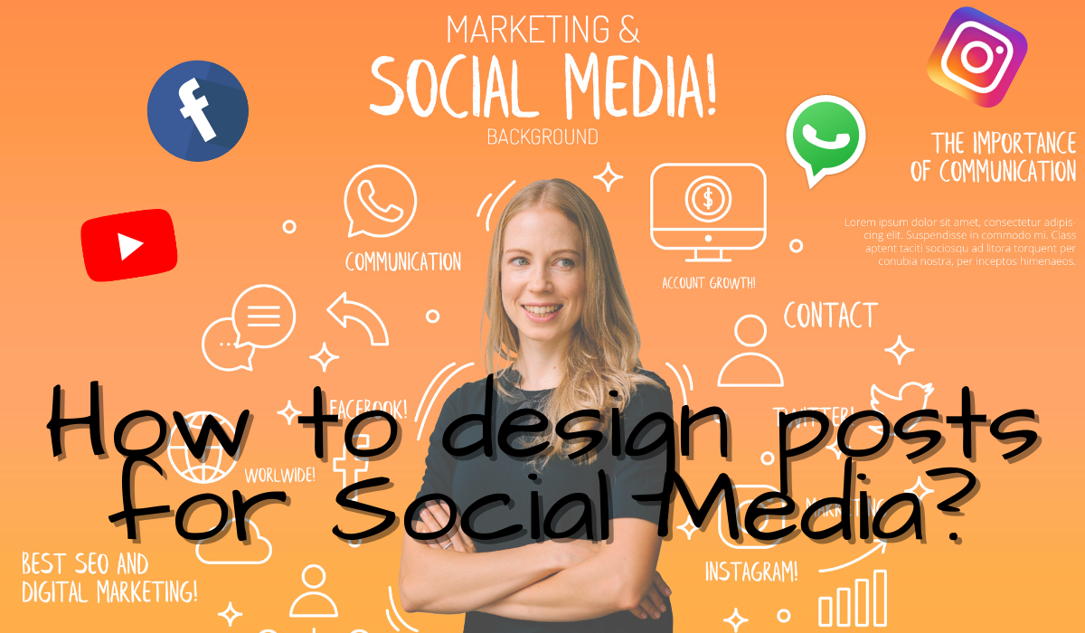 How to be a designer for Social Media Posts in few seconds
