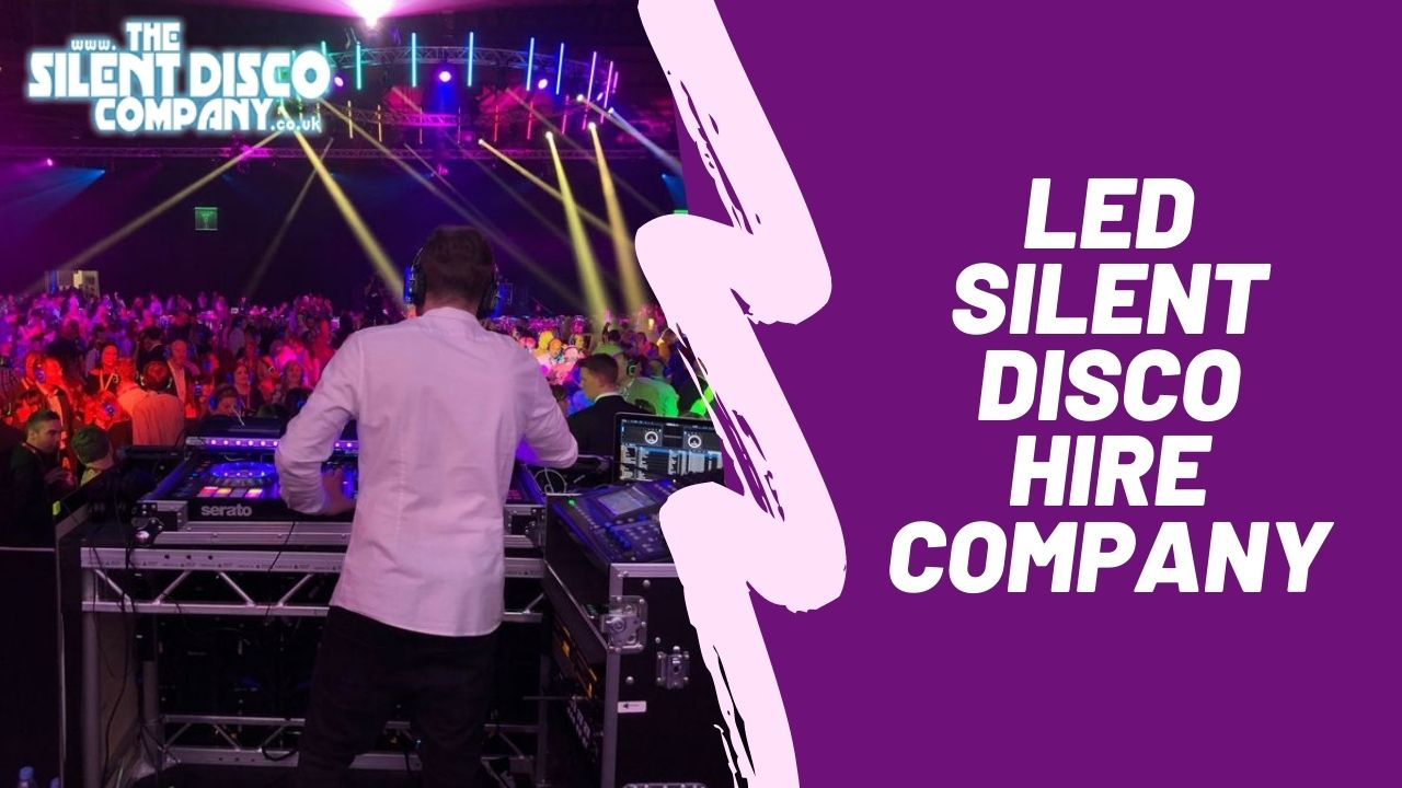 UK's Leading LED Silent Disco Hire Company
