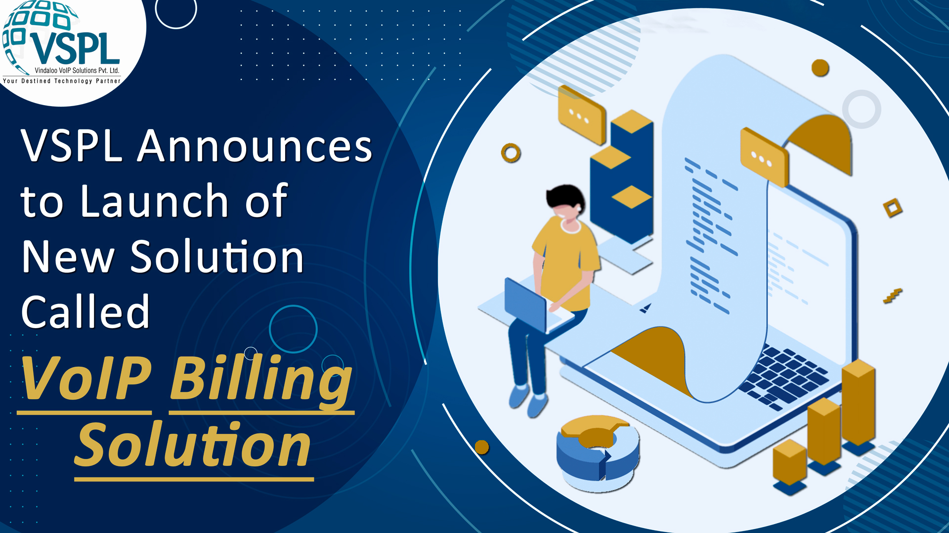 VSPL Announces to Launch of New Solution Called VoIP Billing Solution
