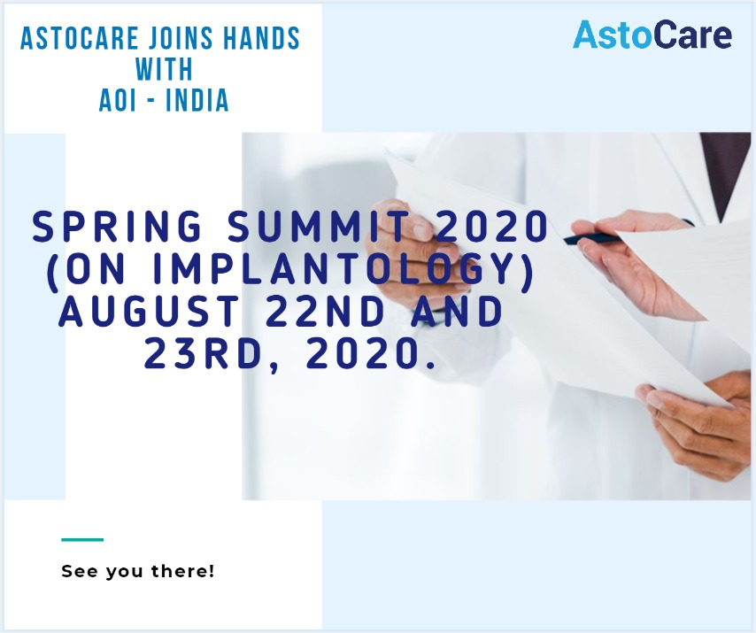 AstoCare joins hands with AOI- India