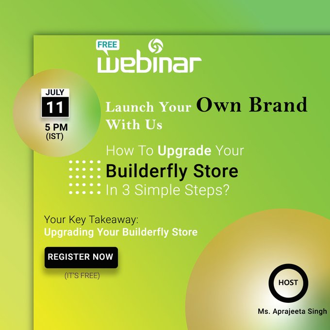 Free Webinar: Launch Your Online Store With Builderfly- An All-Inclusive Ecommerce Platform