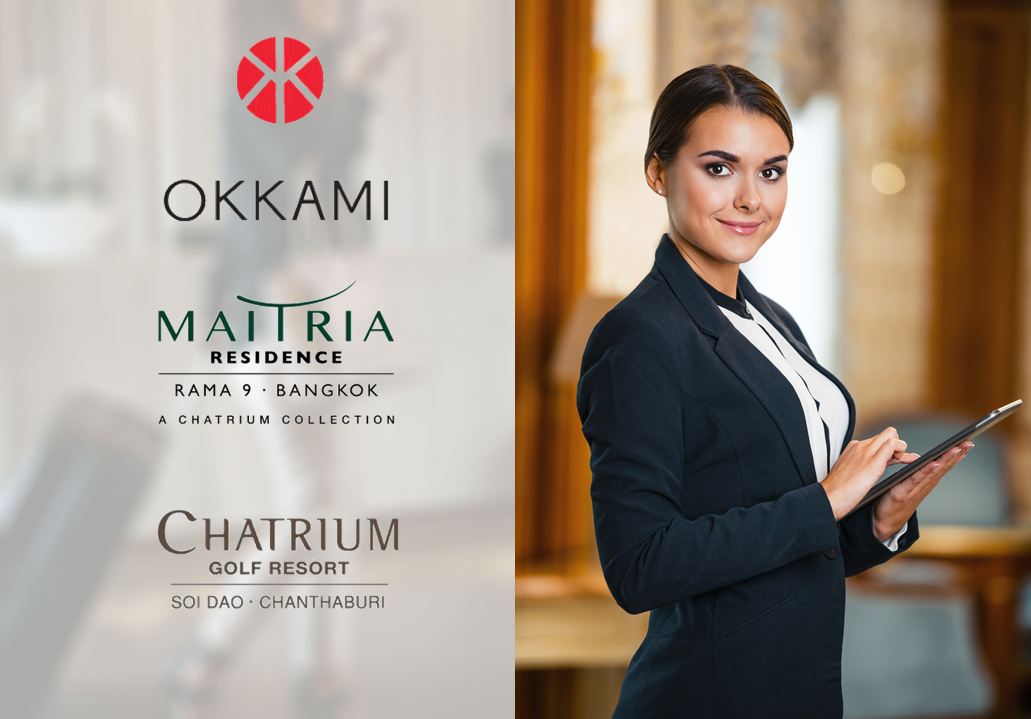 OKKAMI On-Boards Maitria Residence Rama 9 & Chatrium Golf Resort Soi Dao Chanthaburi