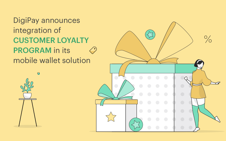 DigiPay announces integration of customer loyalty program in its mobile wallet solution