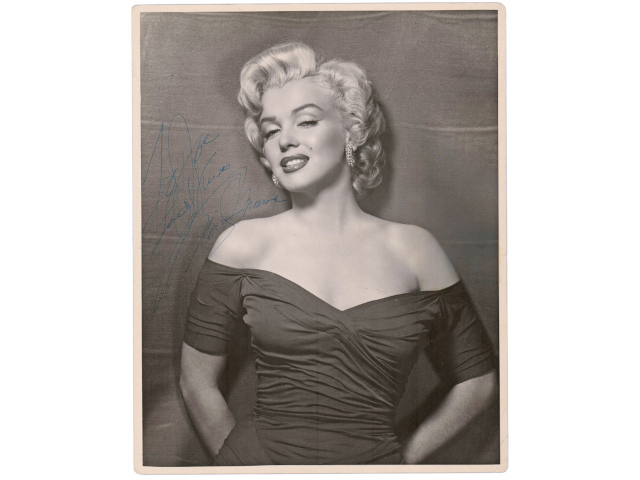 Items Signed by Washington, Napoleon, Marilyn Monroe, Many Others are in University Archives' Online Auction, Nov. 11th