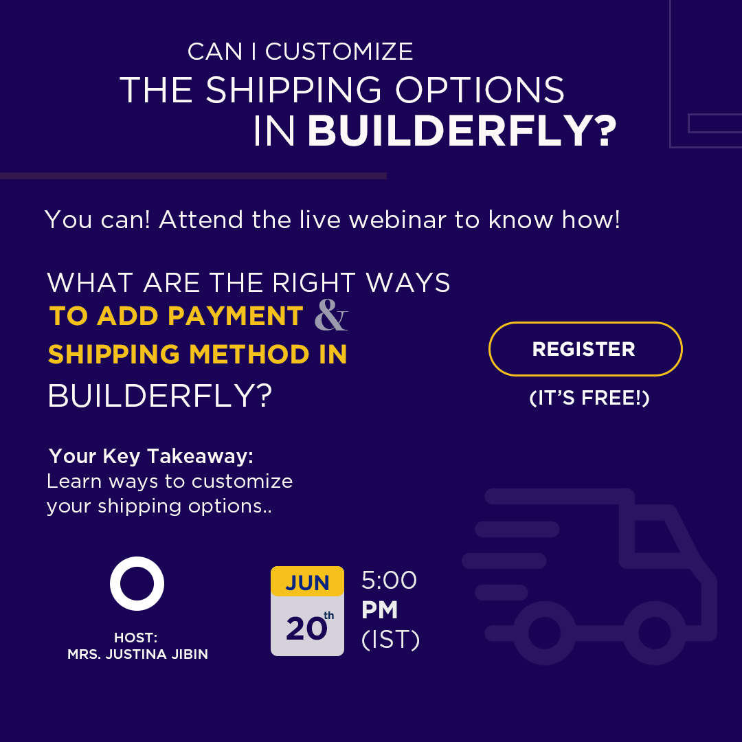 Builderfly Ecommerce Platform is conducting the Fifth Webinar for all Businesses