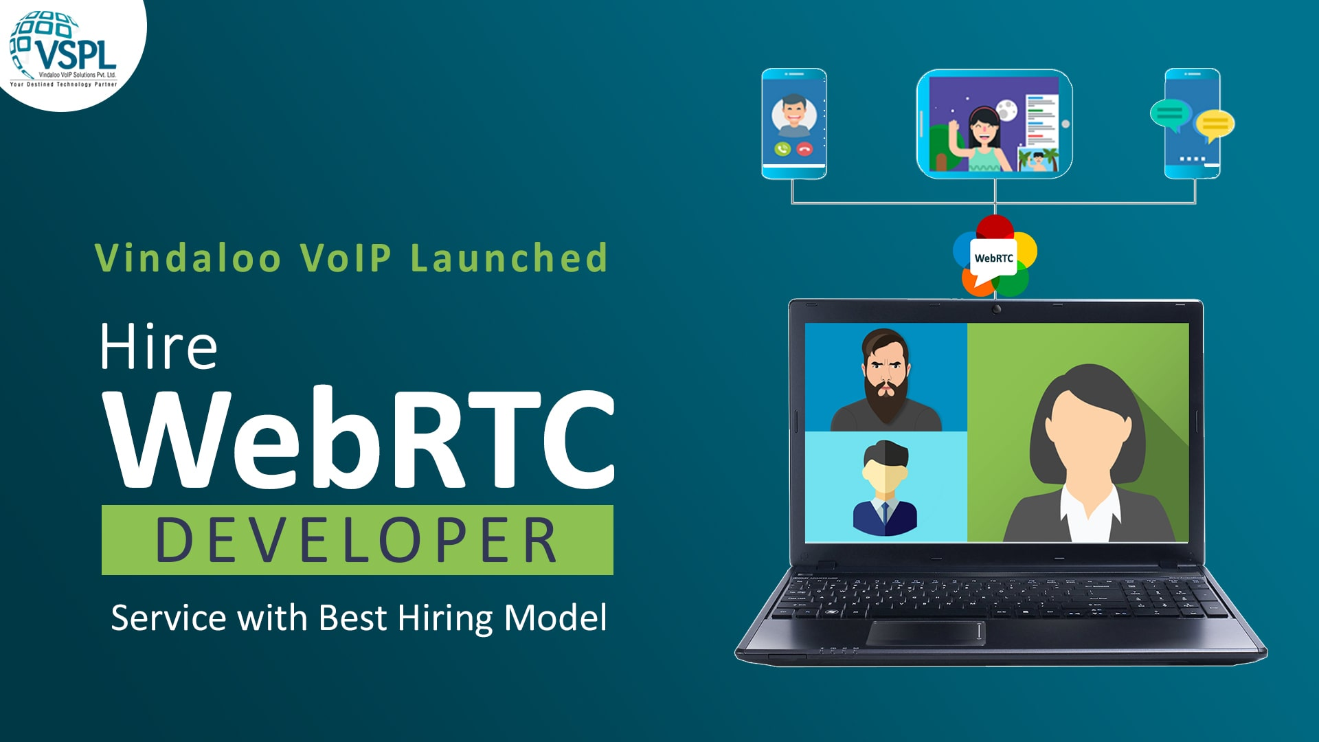 Vindaloo VoIP Launched Hire WebRTC Developer Service with Best Hiring Model