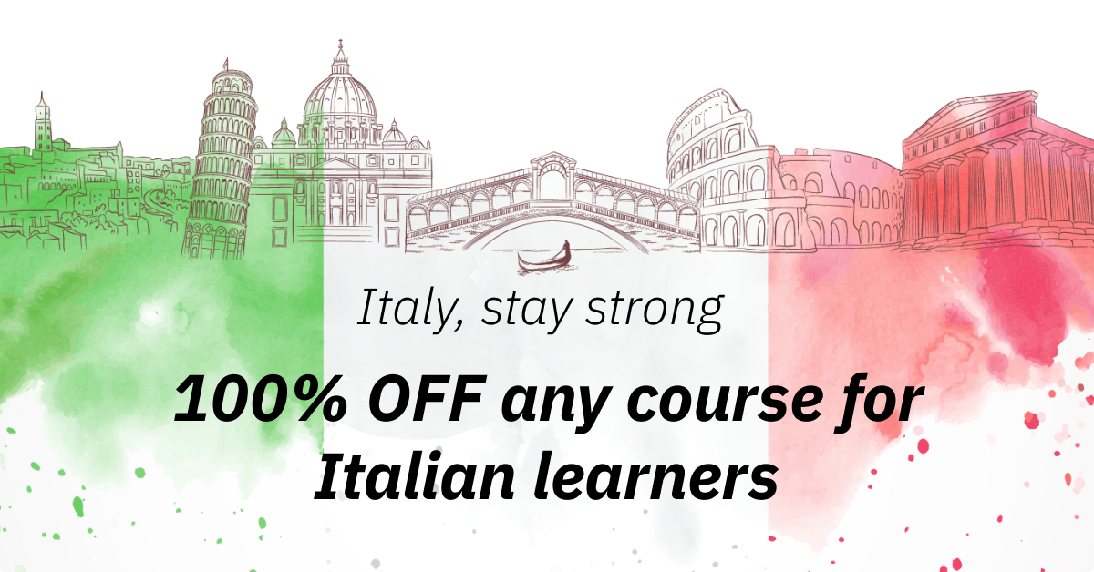 Grinfer, a Dutch-based E-learning Marketplace, Launches a Special Program to Support Italy Struggling against Coronavirus