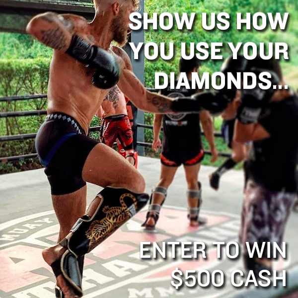 Diamond MMA Presents Show Us How You Use Your Diamonds - Video Contest