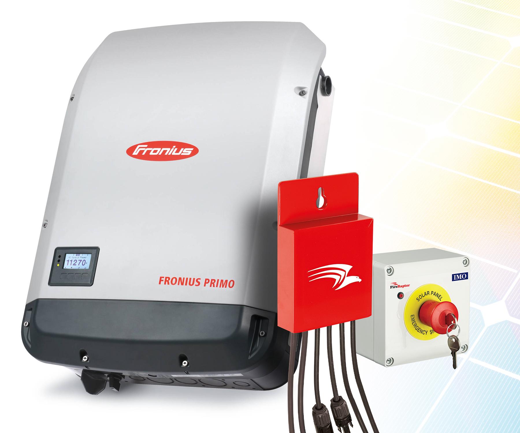IMO FireRaptor Receives UL PVRSS Listing