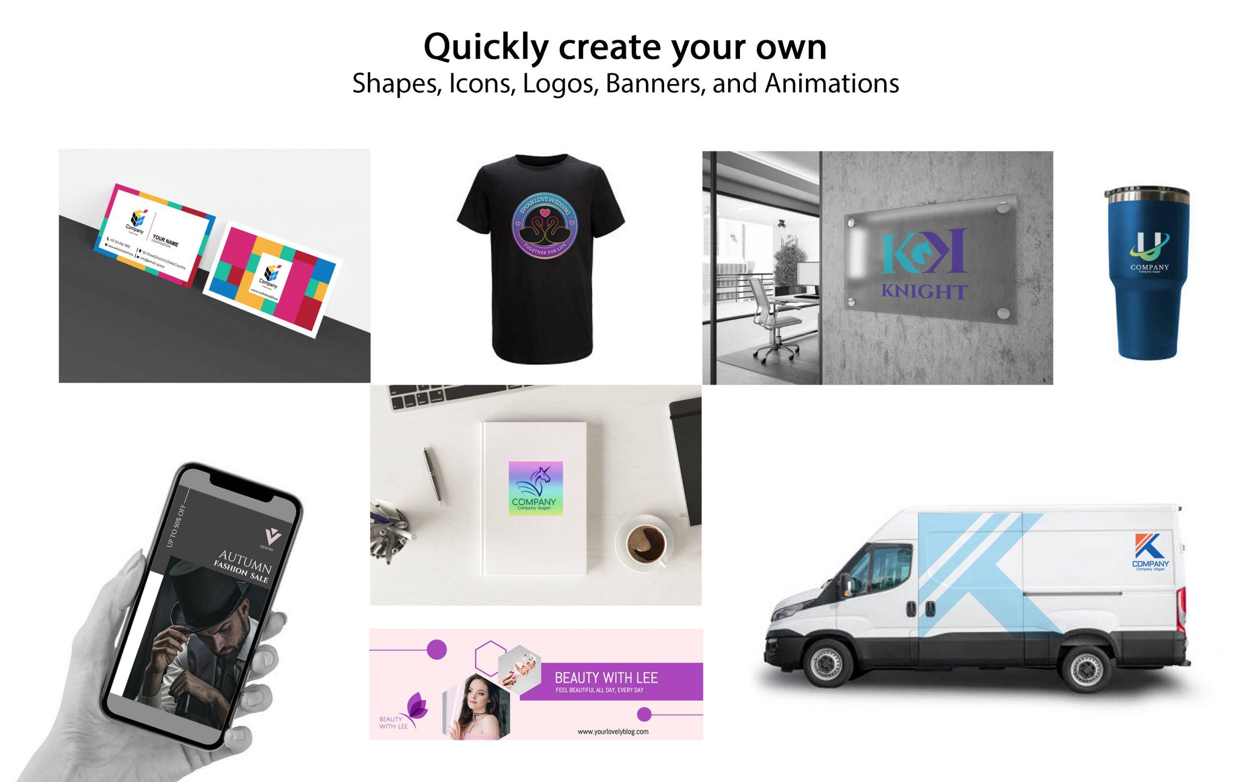 The latest logo design app in 2021| Drawtify Logo Maker  Animator for Mac  Windows